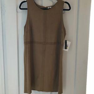 Kensie faux suede dress